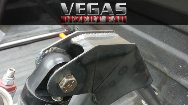 2014 Ford F150 Accessories >> Upper Shock Mounts on our Ranger Bedcage - Vegas Dezert Fab