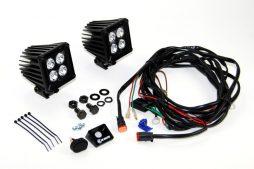 KC Hilites LZR 3″ Cube Light Kit