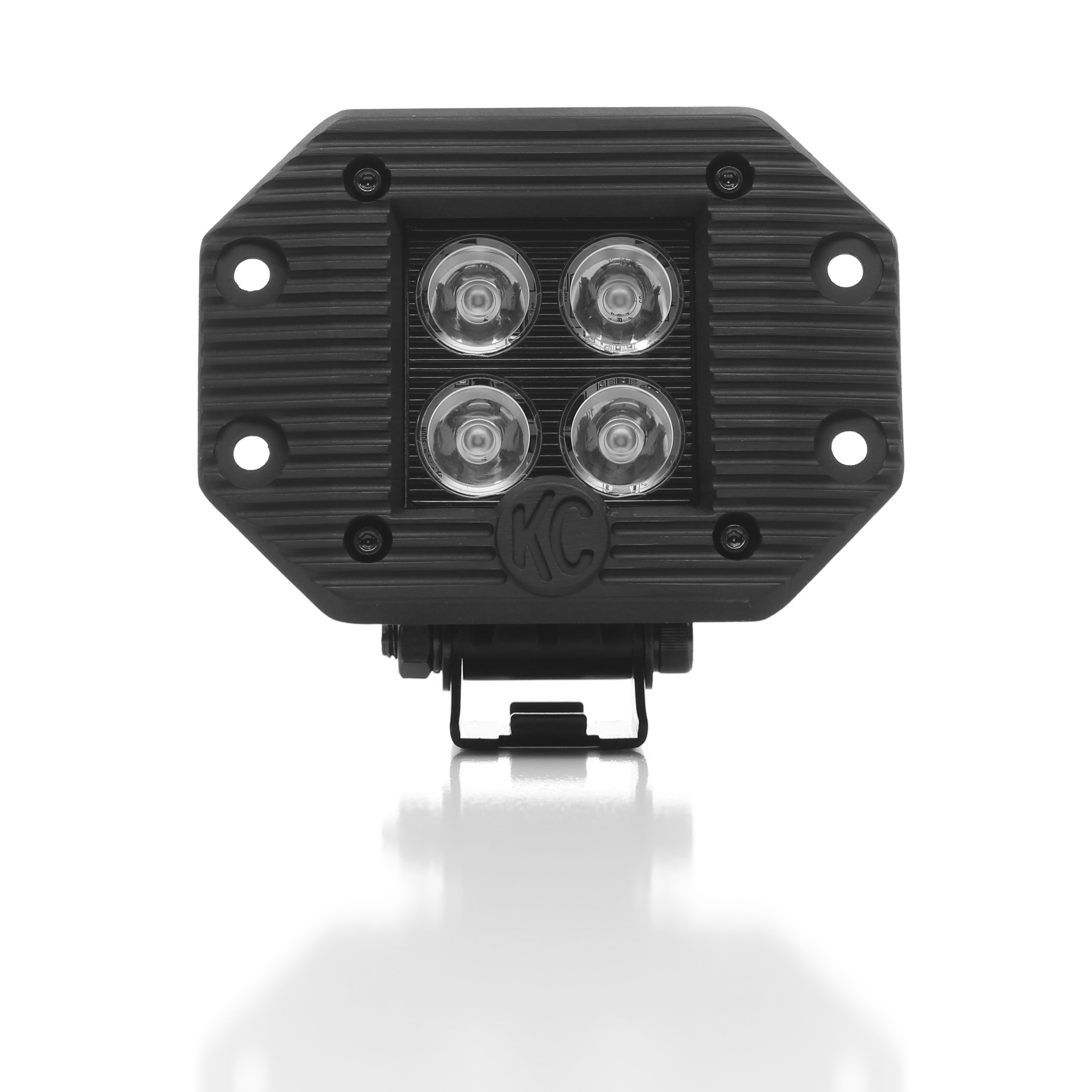 "KC Hilites 3"" LRZ LED Cube Flush Mount"