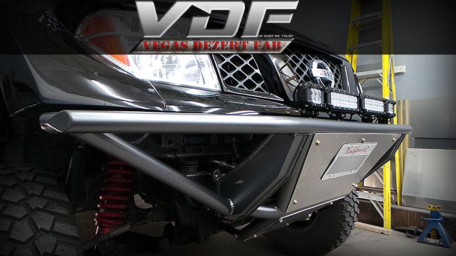 05 F150 Bumper >> Nissan Frontier Prerunner Bumper - Vegas Dezert Fab