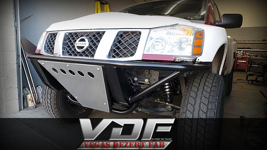Nissan Prerunner Bumpers Vegas Dezert Fab