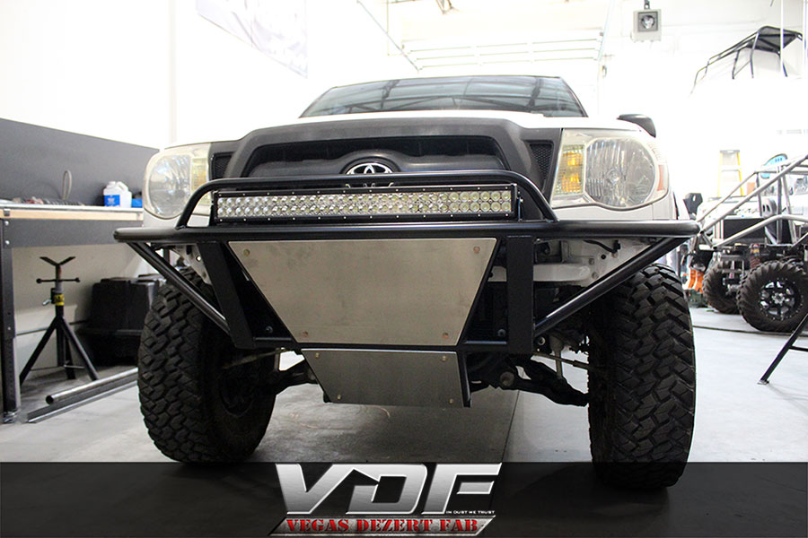 Toyota Tacoma Front And Rear Prerunner Bumpers Vegas
