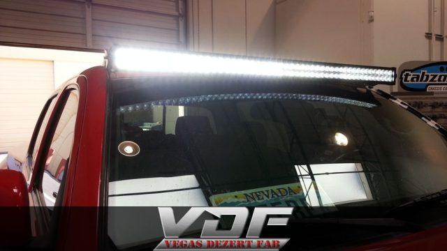 Toyota Tacoma 50″ LED Light Bar Mounted