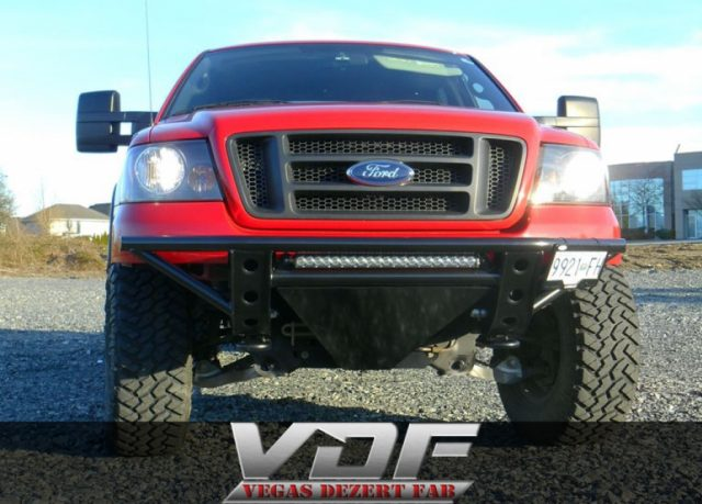Our F150 Prerunner Bumper in Canada