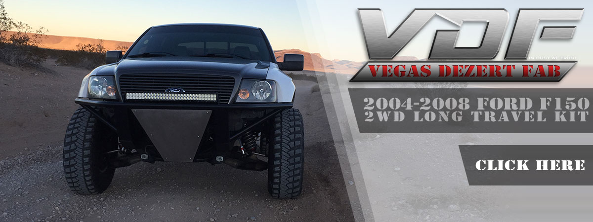 04-08 F150 Long Travel Kit 2wd