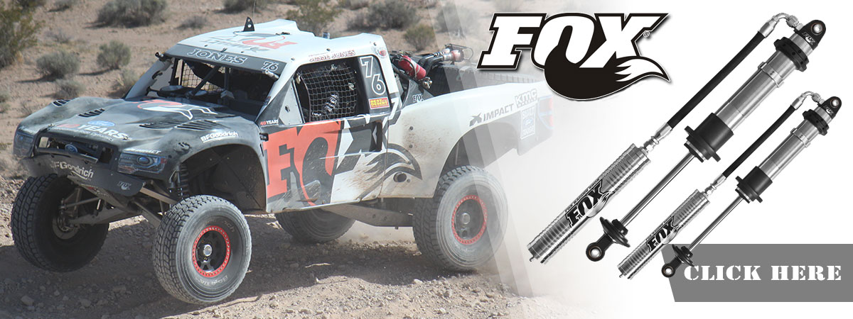 Fox Shocks - Buy Coil-overs and Bypass Shocks